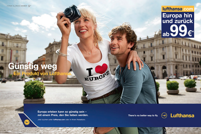 Lufthansa europe people location and production